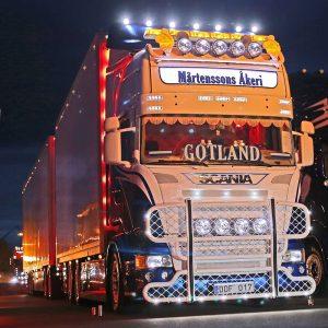 Detaljer passar Scania