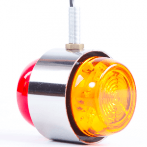 Positionsljus Chrome LED 70 mm
