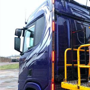 Pärleport Scania NG rostfri