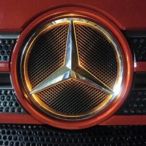 LED ljus passar Mercedes logo front