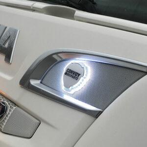 Emblem med led belysning